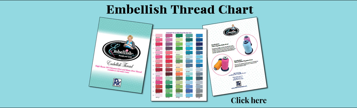 Embellish Thread Chart