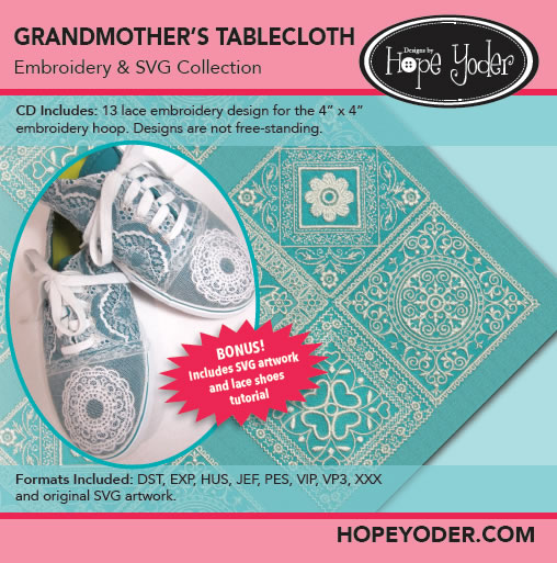 Grandmother's Tablecloth Embroidery Collection
