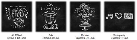 Chalkboard Sketch Designs