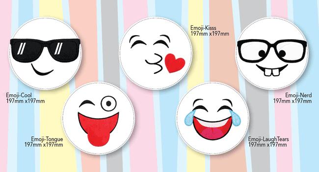 Emoji Pillow Palz Designs