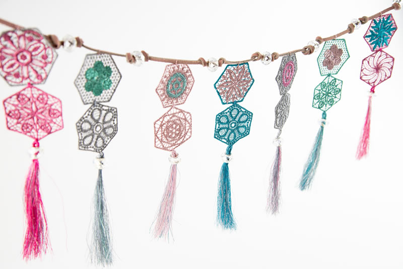 Lace Hex Banner