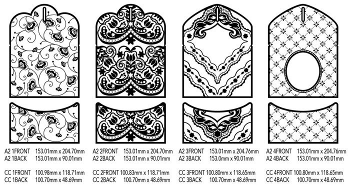 vintage lace card holder embroidery designs cd with svg files