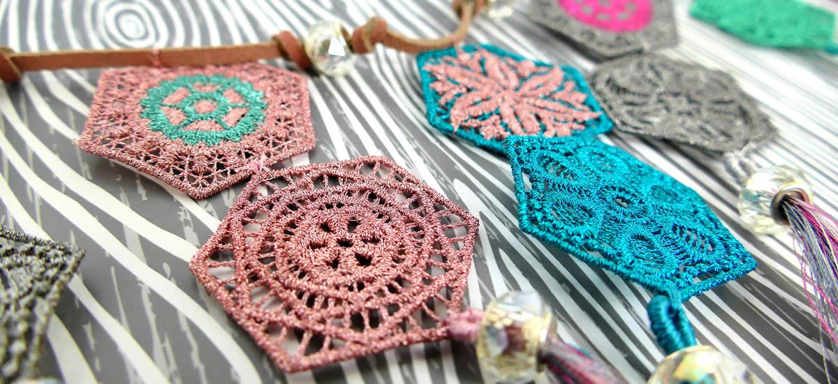 Embellish Metallic Thread Sample